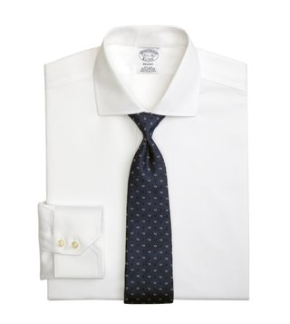 Brooks Brothers White Regent Fit Non-Iron Shirt