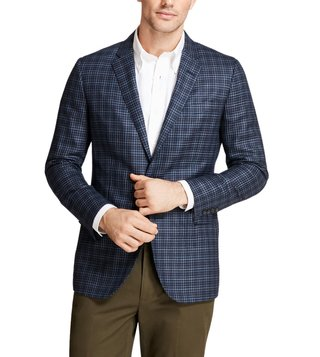 Brooks Brothers Blue Milano Fit Sport Coat