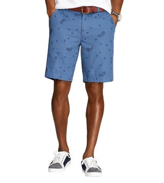 Brooks Brothers Red Fleece Navy Paisley Jacquard Shorts