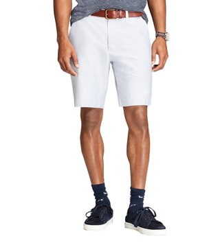 Brooks Brothers Red Fleece Light Blue Oxford Shorts