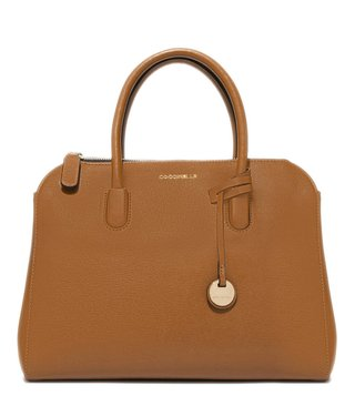 Coccinelle Cuir Clementine Medium Leather Satchel
