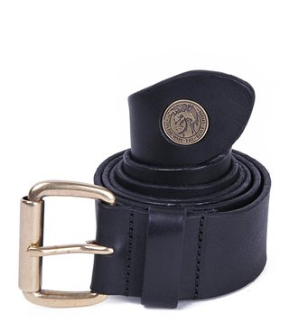 Diesel Black B-Shoot Waist Belt
