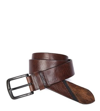 Diesel Brown B-Line Waist Belt