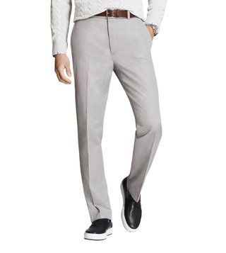 Brooks Brothers Grey Yarndyes Marco Houndstooth Alloy Chinos