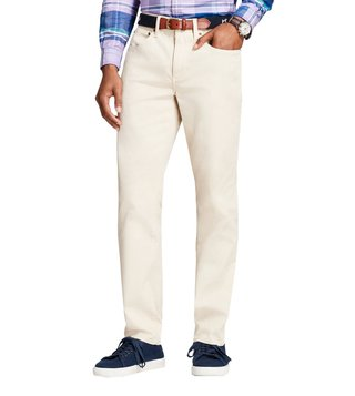 a4a380062 Brooks Brothers Red Fleece Oatmeal Garment Dyed Bedford Chinos ...
