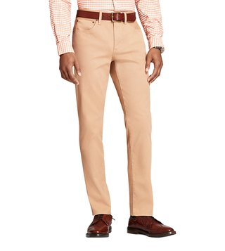 Brooks Brothers Red Fleece Khaki Garment Dyed Bedford Chinos