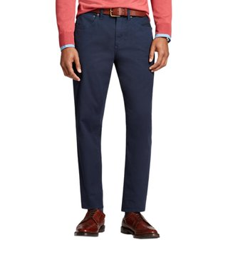 Brooks Brothers Red Fleece Navy Garment Dyed Bedford Chinos