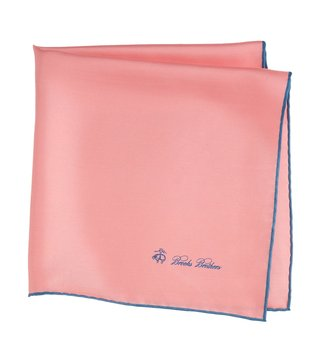 Brooks Brothers Pink Pocket Square
