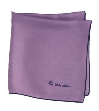 Brooks Brothers Purple Pocket Square