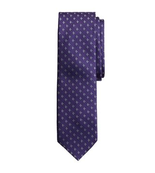 Brooks Brothers Purple Textured Tie