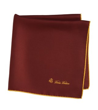 Brooks Brothers Red Pocket Square