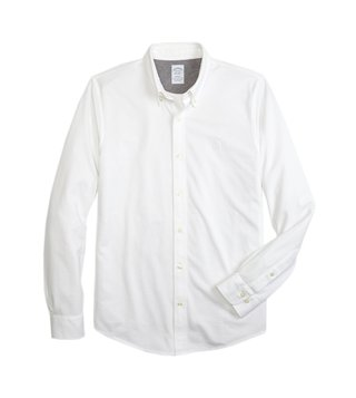 Brooks Brothers White Supima Oxford Shirt