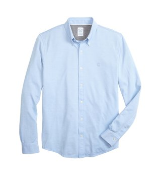 Brooks Brothers Light Blue Supima Oxford Shirt