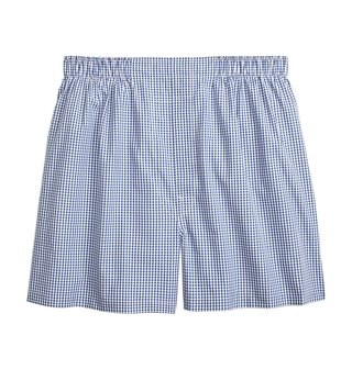 Brooks Brothers Navy BCLTH Gingham Boxers