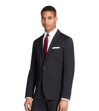 Brooks Brothers Red Fleece Navy Wool Twill Suit Jacket