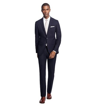 Brooks Brothers Charcoal Milano Fit Suit
