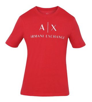 Armani Exchange Chili Pepper Crew Neck Slim Fit T-Shirt