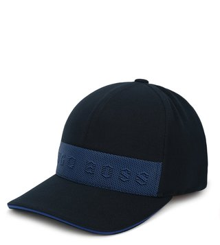 Hugo Boss Navy Pixels Baseball Cap