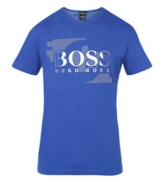 Hugo Boss Blue Athleisure Casual T-Shirt