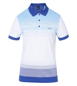 Hugo Boss Blue Athleisure Paule 6 Polo T-Shirt