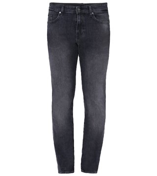 Hugo Boss Dark Grey Delaware Casual Jeans