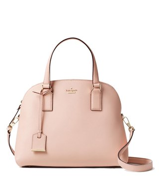 Kate Spade Warmvellum Lottie Satchel