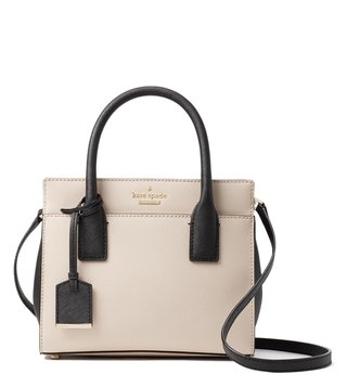 Kate Spade Tusk & Black Candace Small Satchel
