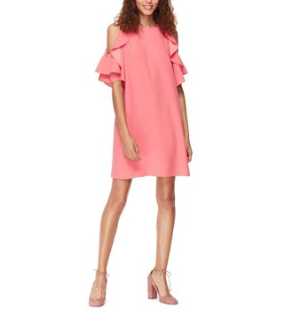 Kate Spade Petunia Cold Shoulder Dress