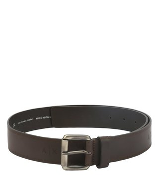 Armani Exchange Testa Di Moro Buckle Waist Belt