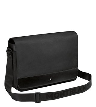Montblanc Black Nightflight Messenger Bag