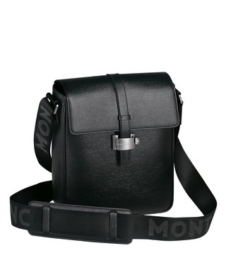 Montblanc Black 4810 Westside North South Bag