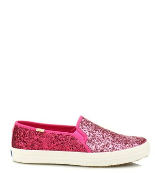 Kate Spade Pink Double Decker Kate Sneakers