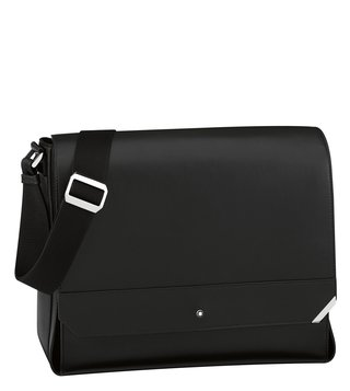 Montblanc Black Urban Spirit Messenger Bag
