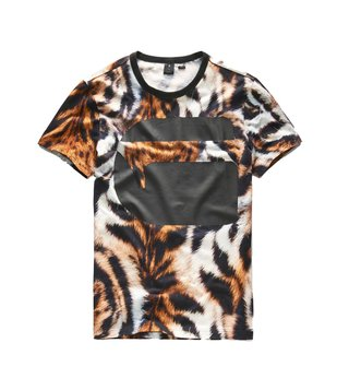 G-Star RAW Multicolor Printed Mostom T-Shirt