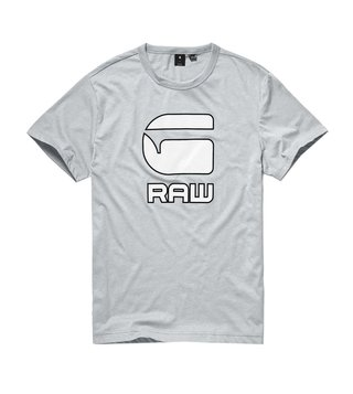 G-Star RAW Grey Heather Logo Print Cadulor T-Shirt