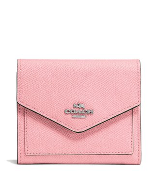 Coach Peony Small Leather Wallet