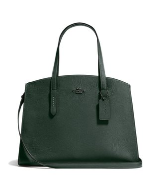 Coach Dark Ivy Charlie Carryall Satchel