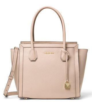MICHAEL Michael Kors Soft Pink Mercer Studio Large Satchel