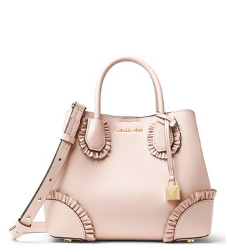 MICHAEL Michael Kors Soft Pink Mercer Gallery Medium Satchel