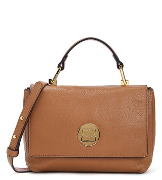Coccinelle Cuir Liya Mini Leather Satchel