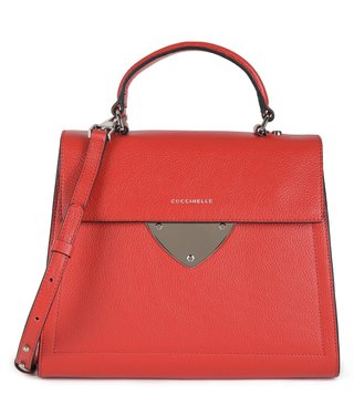 Coccinelle Coquelicot B14 Medium Leather Satchel
