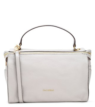 Coccinelle Seashell Atsuko Medium Leather Shoulder Bag