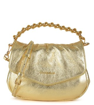 Coccinelle Platino Julie Leather Mini Bag