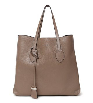 Coccinelle Taupe Celene Large Leather Tote