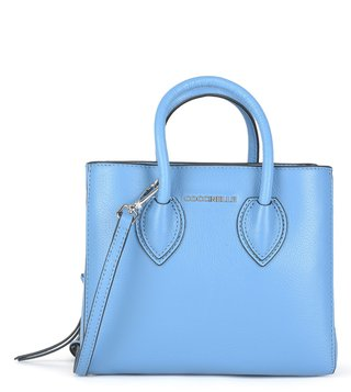 Coccinelle Azur Farisa Small Leather Satchel