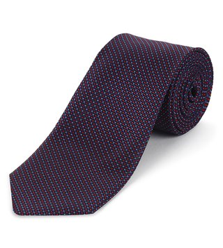 Hugo Boss Dark Pink Silk Business Tie