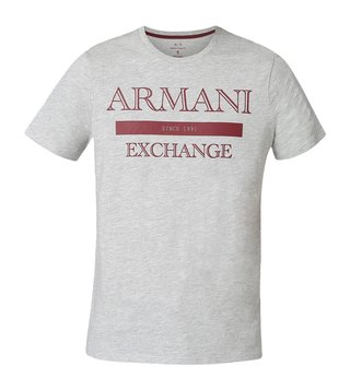 Armani Exchange Grey Classic Style Slim Fit T-Shirt