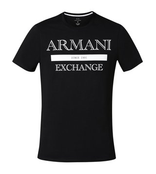 Armani Exchange Black Classic Style Slim Fit T-Shirt