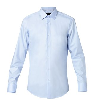 Hugo Boss Light Blue Jason Business Cotton Shirt