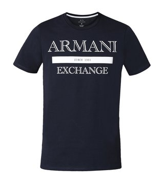 Armani Exchange Navy Classic Style Slim Fit T-Shirt